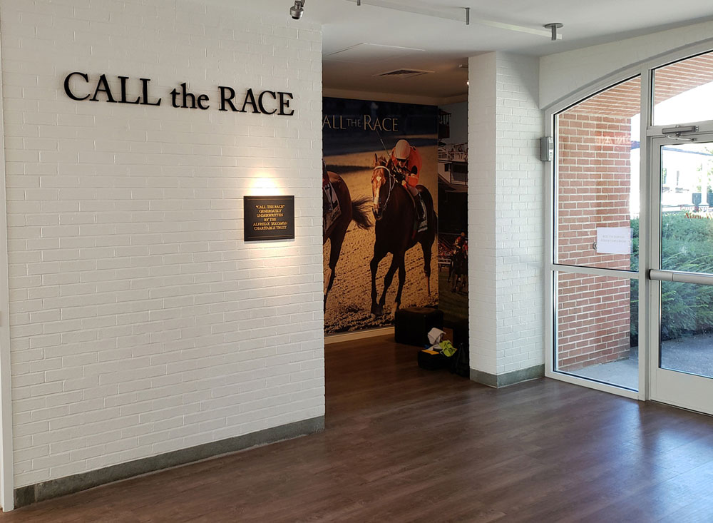 call the race interactive experience