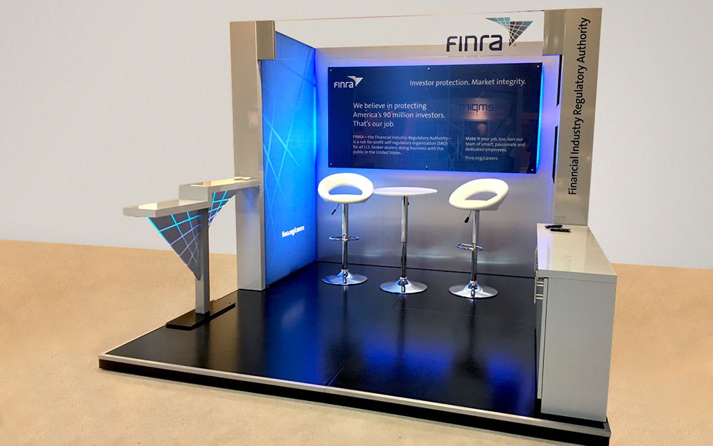 10 x 10 trade show booth